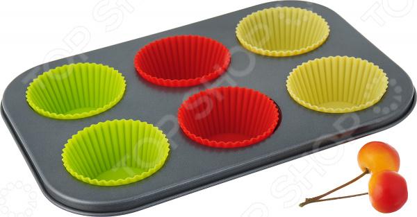 Набор для выпечки кексов BO-1028. Количество форм: 6 шт