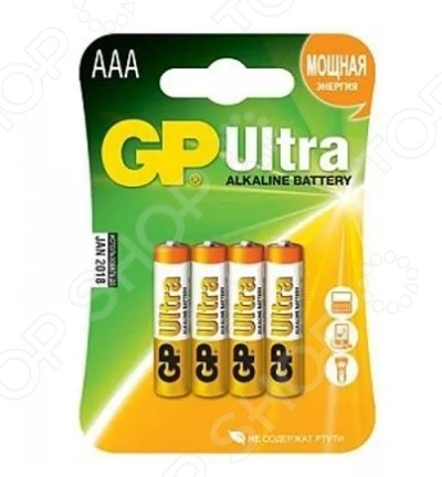 Набор батареек GP Batteries Ultra 24AU-2CR4 gp 15a 2cr4