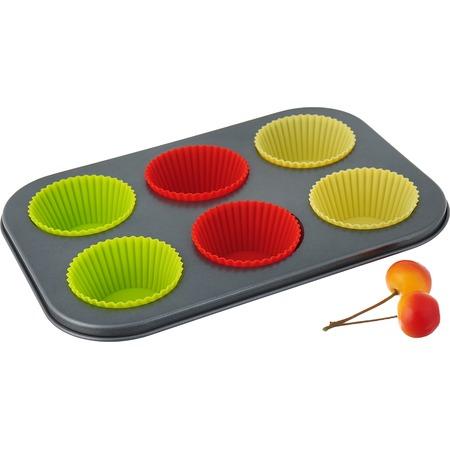 Купить Набор для выпечки кексов BO-1028. Количество форм: 6 шт