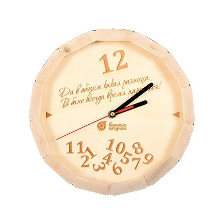 Купить Часы для бани Банные штучки «В бане всегда время париться!»