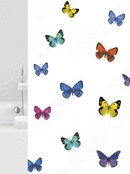 Штора для ванной Bacchetta Papillons