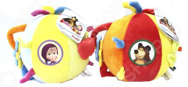 Игрушка-погремушка плюшевая Simba «Шар. Маша и Медведь». В ассортименте