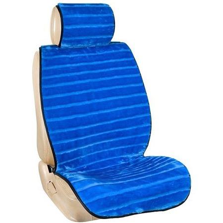 Купить Комплект из 2-х меховых накидок на сиденье в салон автомобиля SKYWAY Arctic «Мутон»