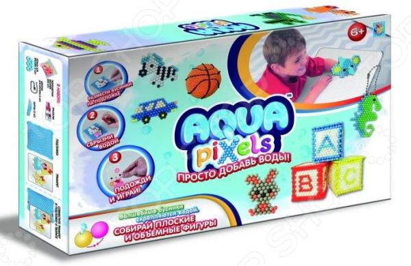 Набор для детского творчества 1 Toy Aqua pixels «Набор принцессы»