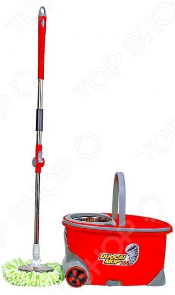 Набор для уборки: швабра и ведро Greenberg GB-2141