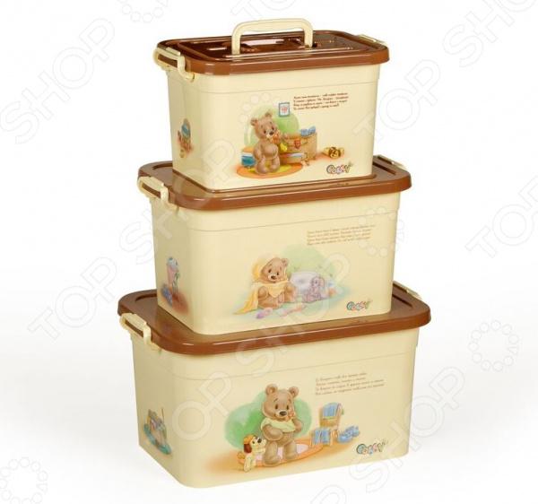 Набор контейнеров для хранения Полимербыт SGHPBKP106 Polly