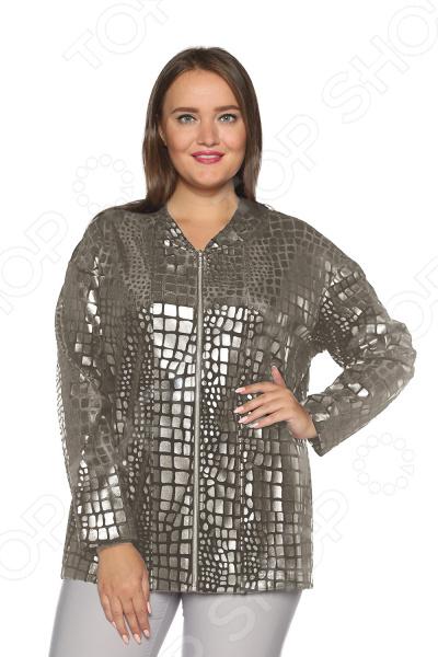 Куртка VEAS «Десерт». Цвет: серебряный нина харрингтон помолвка на десерт