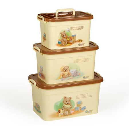 Купить Набор контейнеров для хранения Полимербыт SGHPBKP106 Polly