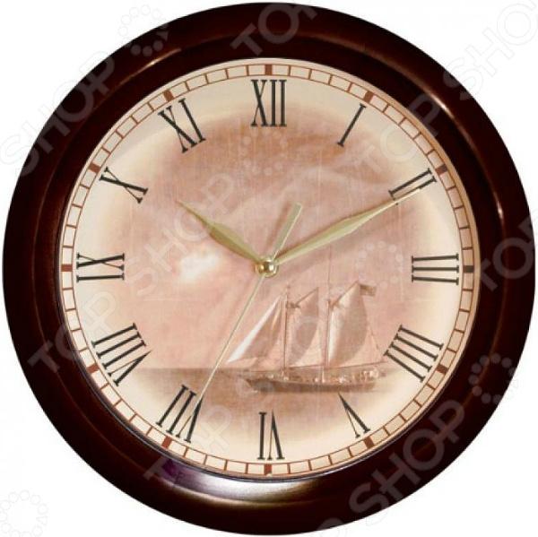 Часы настенные Вега Д 1 МД/7-8 «Парусник» часы настенные вега д 1 мд 7 8 парусник
