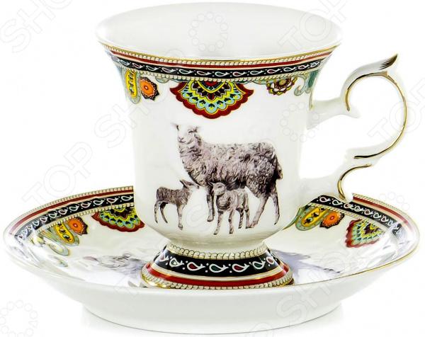 Чайная пара OlAff Jade Porcelain XXY-XT-C4543 цена 2017