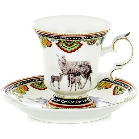 Купить Чайная пара OlAff Jade Porcelain XXY-XT-C4543