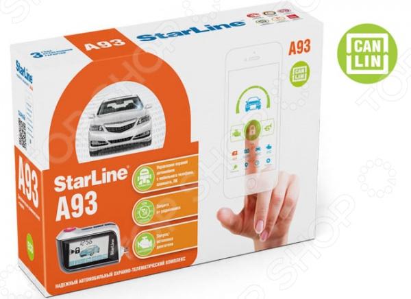 Автосигнализация StarLine Twage A93 CAN-LIN надежно защитит ваш автомобиль от угона и кражи, находящихся внутри, вещей. В свете небывалого разгула преступности многие автолюбители уже успели по достоинству оценить всю практичность и удобство использования подобных устройств. StarLine Twage A93 CAN-LIN представляет собой современный охранно-телематический комплекс, защитные свойства которого реализованы в соответствии с самыми продвинутыми и инновационными технологиями. Среди основных преимуществ предлагаемой охранной системы можно отметить:  диалоговую защиту обеспечивает надежную защиту от электронного взлома ;  защиту от помех;  расширенный температурный диапазон -50 до 85 С ;  контроль канала связи обеспечивает проверку нахождения брелка в зоне действия приемопередатчика автосигнализации ;  встроенный CAN LIN интерфейс;  наличие 3-осевого датчика удара и наклона.