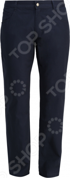 Брюки Finn Flare S16-21001. Цвет: темно-синий