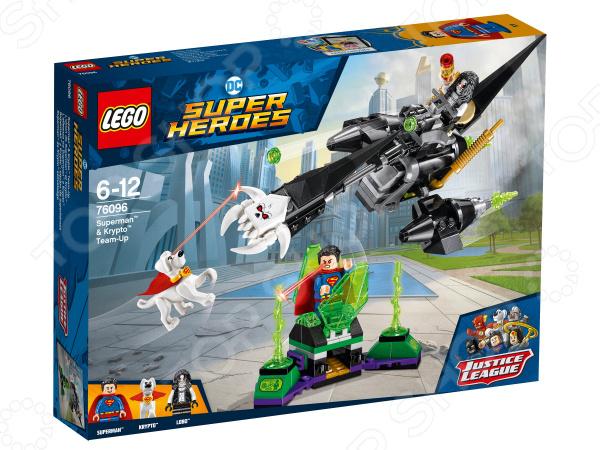 Конструктор игровой LEGO Super Heroes «Супермен и Крипто объединяют усилия» lego education 9689 простые механизмы