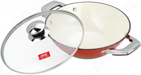 Сковорода вок с крышкой Calve CL-1906
