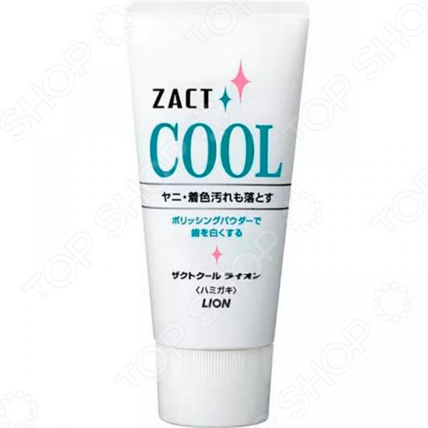 Зубная паста Lion Zact Cool для курящих  освежающим  отбеливающим эффектом