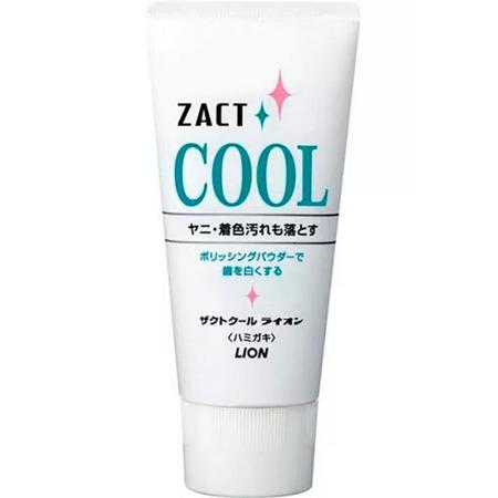 Купить Зубная паста Lion Zact Cool для курящих с освежающим и отбеливающим эффектом