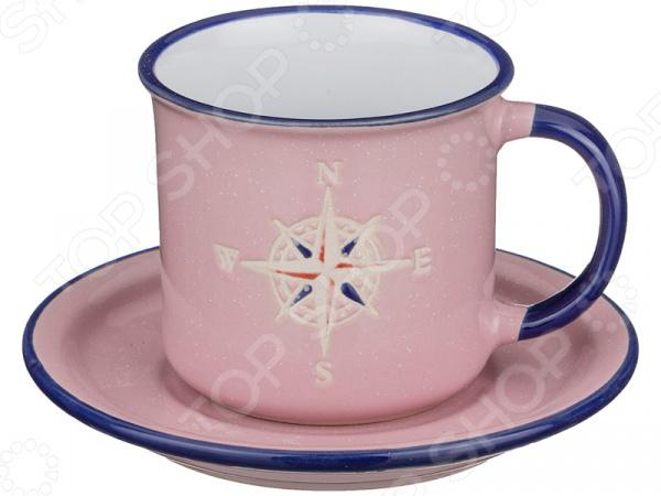 Чайная пара Lefard «Компас» 153-784