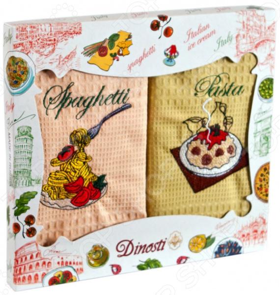Комплект из 2-х кухонных полотенец Dinosti «Итальянская кухня»