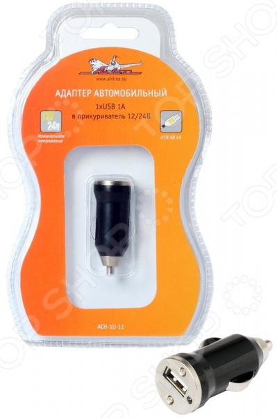 Адаптер в прикуриватель Airline ACH-1U-11 тройник в прикуриватель sky communications ic2720 ft7900