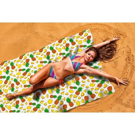 Купить Покрывало пляжное Сирень «Ананасовый коктейль»