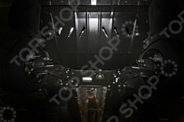 Комплект: защита картера и крепеж Novline-Autofamily Skoda Yeti 2014, Superb 2013: 1,2/1,8 бензин/2,0 дизель МКПП/АКПП