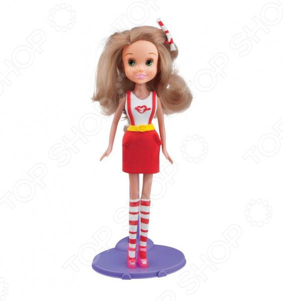 Пластилин с куклой Toy Target «Блондинка в красной юбке»