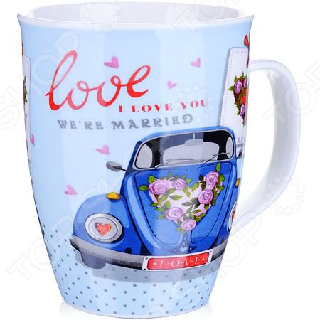 Кружка Loraine LR-25973-1 Love кружка loraine love 340 мл 25973 page 1