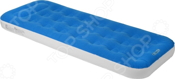 Кровать надувная Relax Easigo Flocked Air Bed Single насос karcher bp 2 cistern 1 645 420