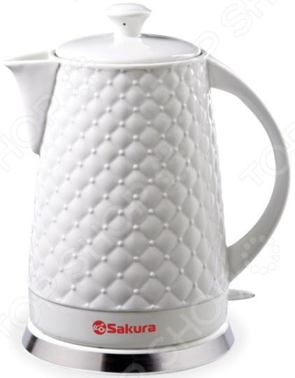 Чайник Sakura SA-2032. Рельеф: крупная сетка чайник sakura sa 2715r
