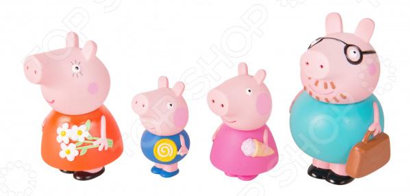 Набор детских игрушек для ванны Peppa Pig «Семья Свинки Пеппы»