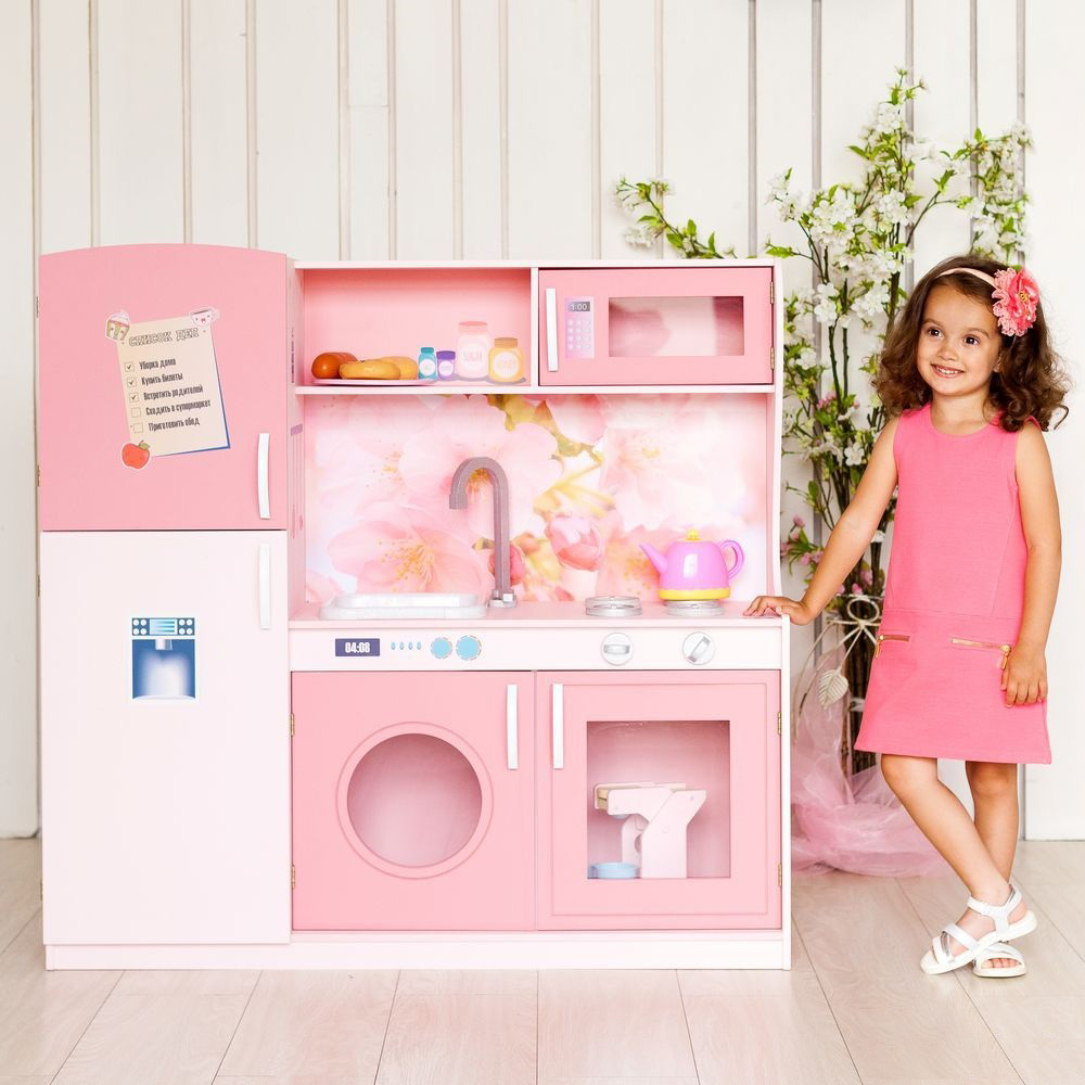 Кухня игрушечная PAREMO «Фиори Роуз»