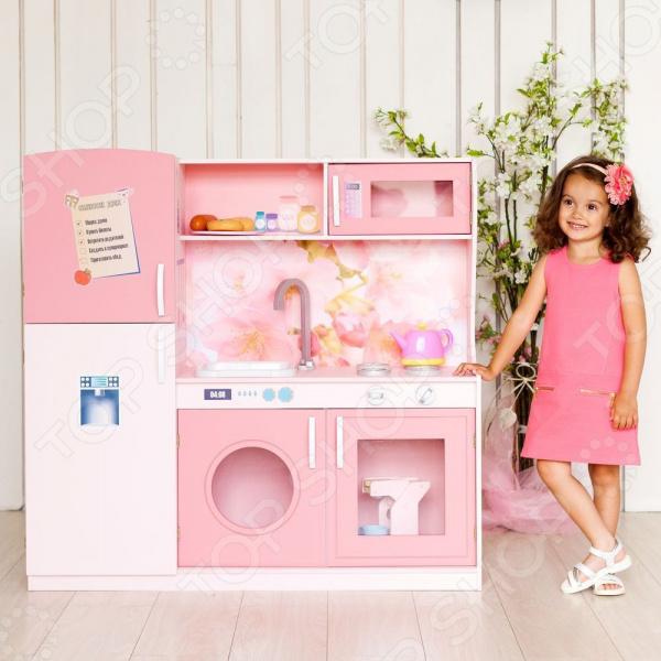 Кухня игрушечная PAREMO «Фиори Роуз» 1