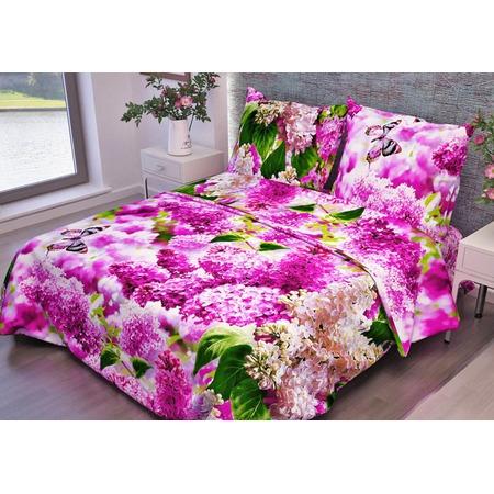 Купить Комплект постельного белья Fiorelly «Розовая сирень»