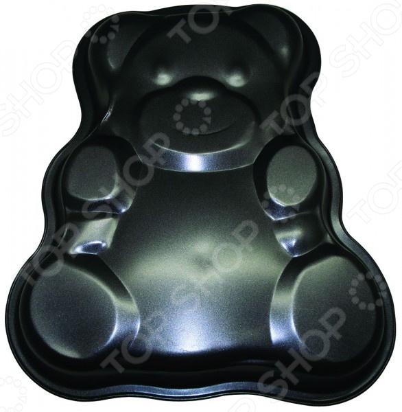 Форма для выпечки металлическая Regent Easy Медвежонок форма для выпекания металл tefal easy grip 28см j1629714