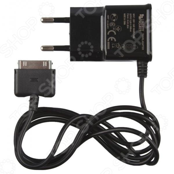 Устройство зарядное сетевое LP 2,1 А для Apple 30 pin зарядное устройство canon lc e12e original для lp e12