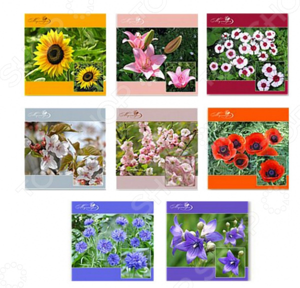Салфетка для сервировки Мультидом «Фото цветов» FJ51-71. В ассортименте