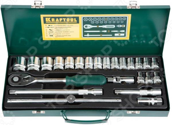 Набор торцевых головок Kraftool Industrie Qualitat 27892-H24_z01 все цены