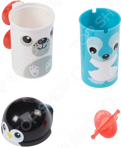 Набор детских игрушек для ванны Alex «Северный полюс»