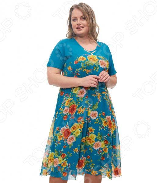 Платье Blagof «Никея». Цвет: бирюзовый платье горная лаванда blagof платья и сарафаны с принтом