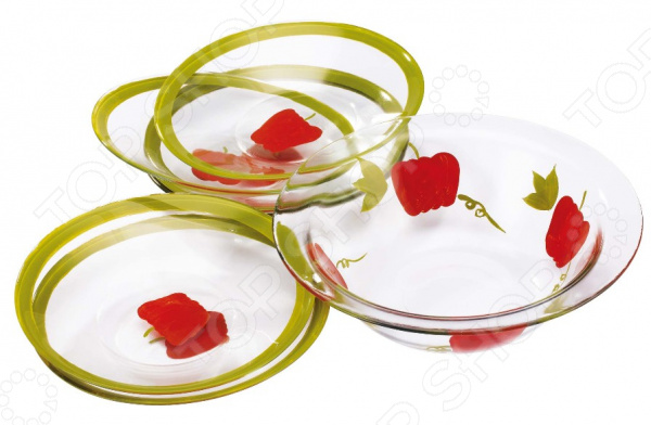 Набор салатников Bekker BK-6708 кухонный набор bekker bk 3239 7 предметов