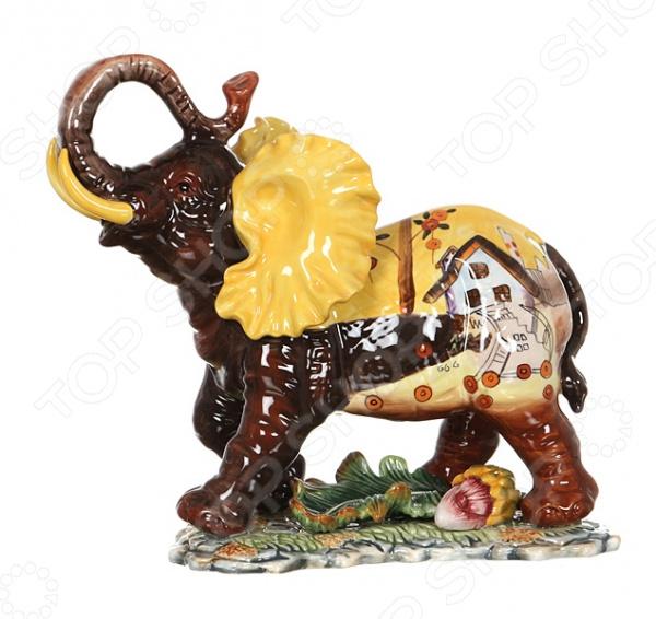 Фигурка декоративная Lefard «Слон» 59-048