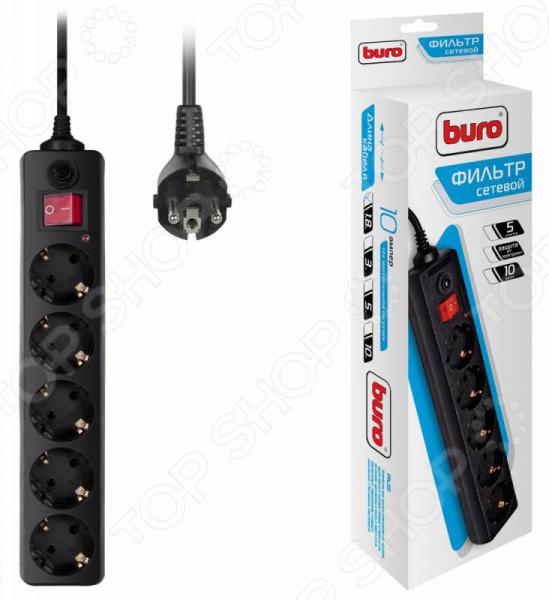Фильтр сетевой BURO 500SH-1.8-B
