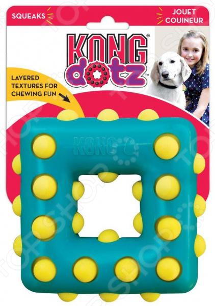 Игрушка для собак Kong Dotz «Квадрат»