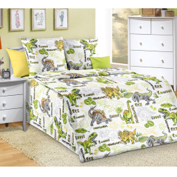 Детский комплект постельного белья ТексДизайн «Эра динозавров»
