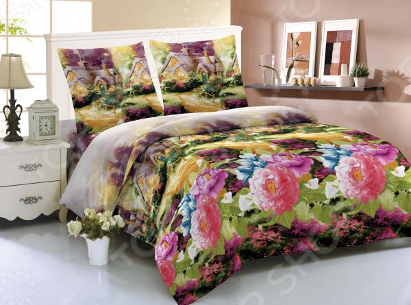 Комплект постельного белья Amore Mio Xian. 1,5-спальный