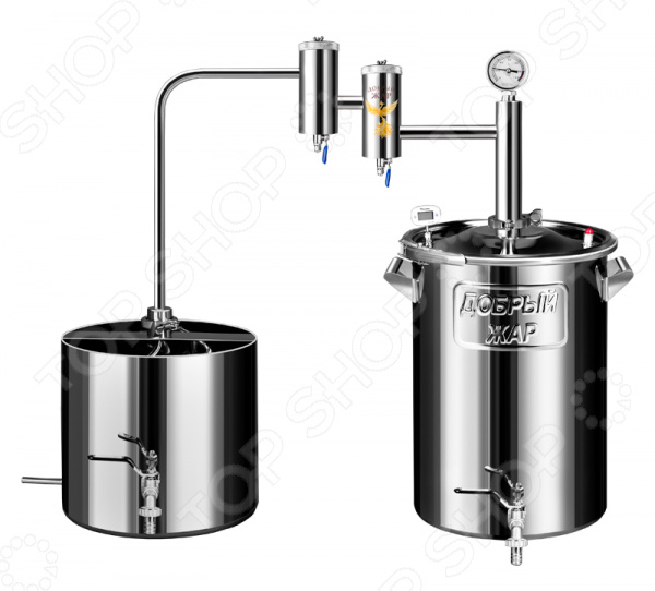 Самогонный аппарат Добрый Жар «Дачный» дистиллятор непроточный добрый жар дачный 30 литров