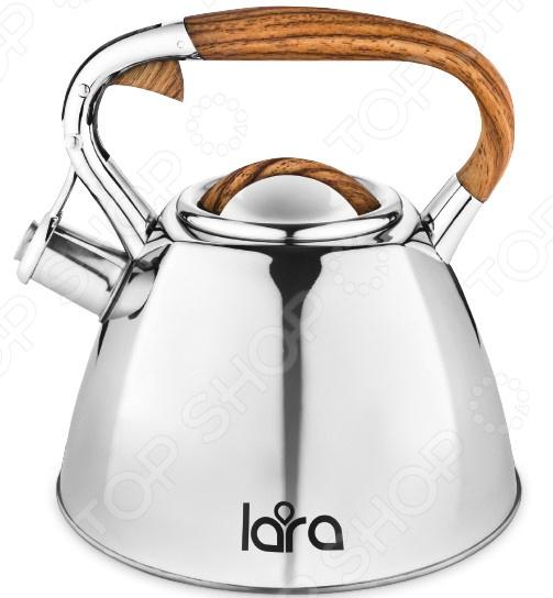 Чайник со свистком LARA LR00-66