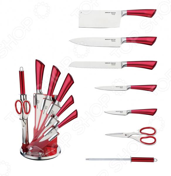 лучшая цена Набор ножей Mercury Haus MC-6153