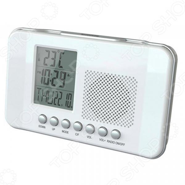 Радиобудильник СИГНАЛ CR 204 радиобудильник rolsen rfm 300 венге 1 rldb rfm 300